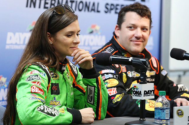 Much of the conversation at the NASCAR Media Tour centered around non-NASCAR topics, like Danica Patrick's pending divorce.