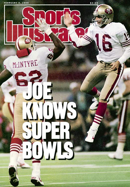 It's not easy to choose which Montana Super Bowl to include, because he won the MVP award three times and was brilliant in each game. But in Super Bowl XXIV he was absolutely unstoppable, hitting 22 of 29 passes for 297 yards and five touchdowns in a 55-10 rout of the Broncos.
