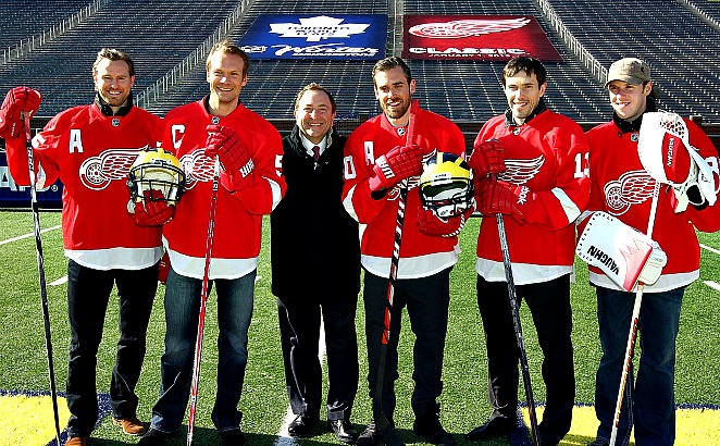 Bettman years in a nutshell: The biggest edition of the popular Winter Classic nixed by a lockout.