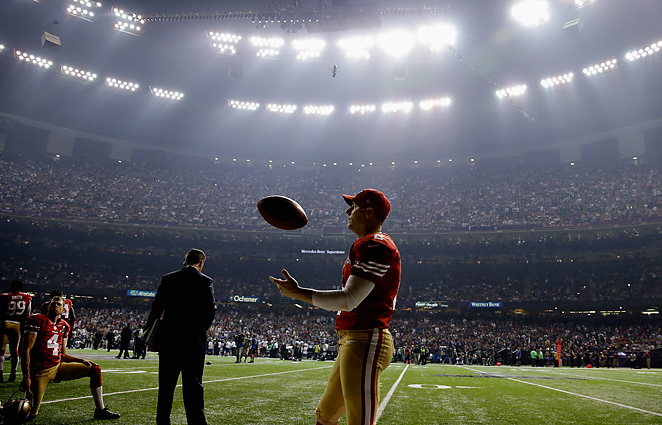 CBS was forced to deal with an unexpected 34-minute delay when half the lights went out in the Superdome.
