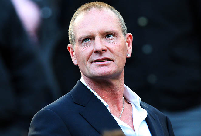 Paul Gascoigne played on the England team that finished fourth in the 1990 World Cup.