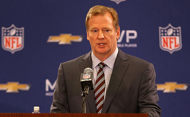 Roger Goodell said he didn't think the blackout would hurt New Orleans' future Super Bowl prospects.
