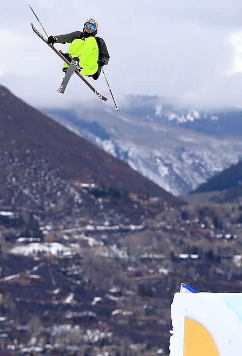 The 21-year-old leads the pack in the new Olympic sport of ski slopestyle. He's the 2010 X Games champion.