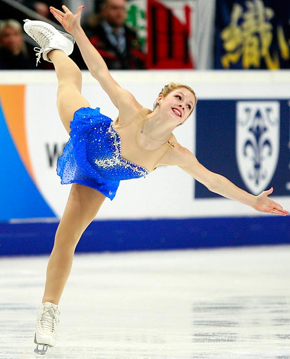 "Gold, one of two Americans hoping to become the first ""Gold"" to compete in the Olympics, stormed back from ninth place in the short program at January's nationals to finish second to Wanger. Just 17, she could be the future of U.S. figure skating."