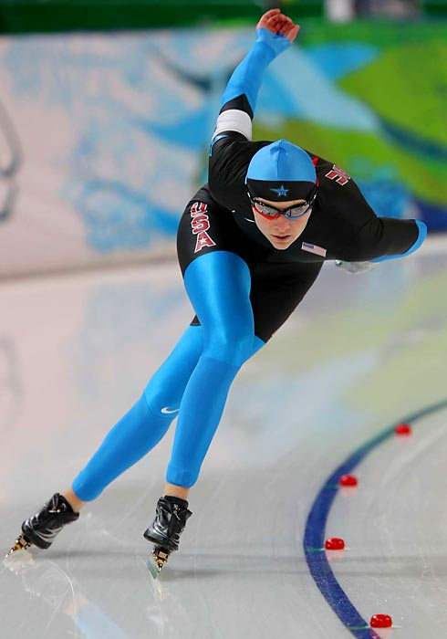 Richardson hopes to two-Olympics medal drought for U.S. female speedskaters. She's the reigning world sprint champion and a podium threat in the 500 and 1,000 meters.