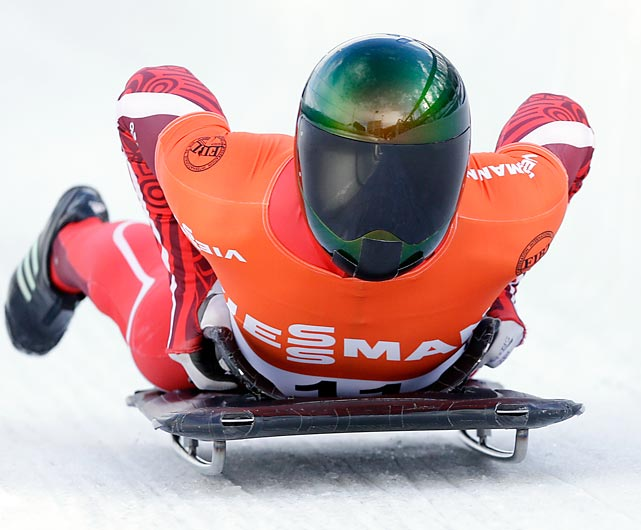 Daly is the top U.S. skeleton slider, but in a sport dominated by Europeans he ranks outside the top five in the World Cup standings.
