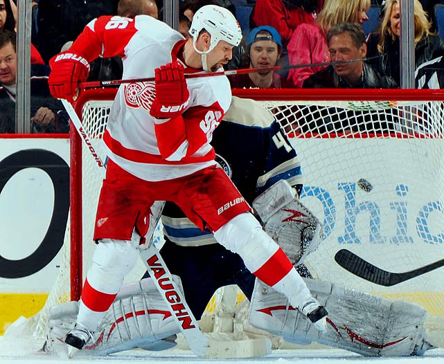 After 15 season with the Red Wings, Holmstrom announced his retirement last January. The winger, who debuted for Detroit in 1996, won the first of two straight Stanley Cups that season. He finished his NHL career with 243 goals and 287 assists in 1,024 regular-season games.