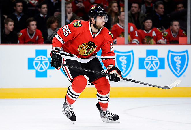 Though his numbers don't reflect it, winger Viktor Stalberg has been excellent for the Blackhawks.