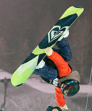 Australian snowboarder Torah Bright won bronze in slopestyle at the 2013 snowboarding world championships.