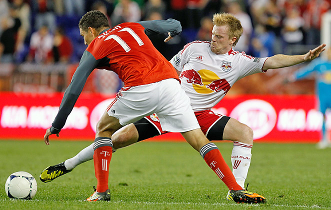 Dax McCarty started in 33-of-34 regular-season games last season, recording three goals.