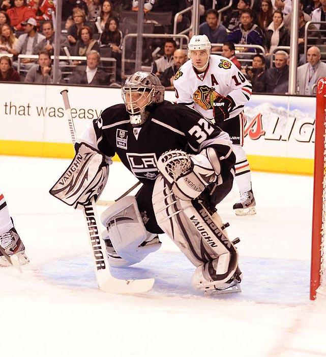 Quick is projected as the U.S. starting goalie after winning the Stanley Cup with the Kings last season. Though Ryan Miller, who was stellar in 2010, could have a say.