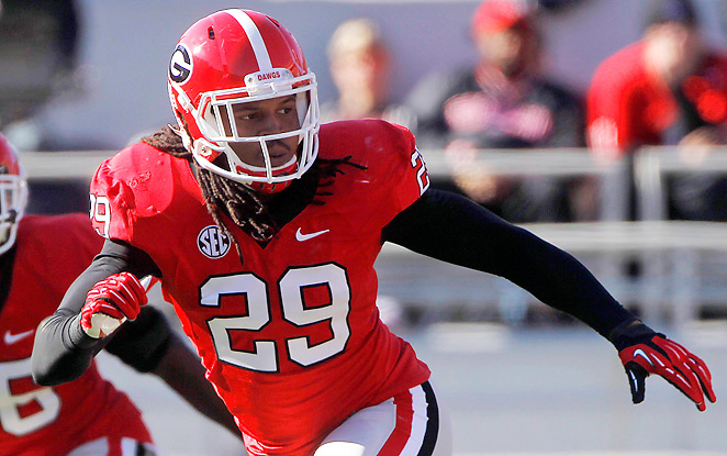 Jarvis Jones racked up 28 sacks and 155 tackles over his two seasons at Georgia.