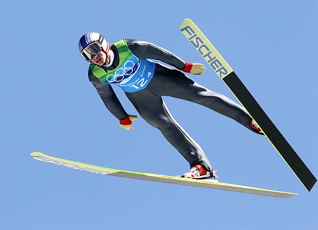Schlierenzauer leads the ski jumping World Cup circuit by over 400 points, and is well-positioned to add to his three Olympic medals from Vancouver.
