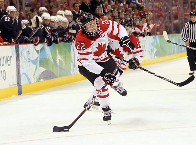 Wickenheiser has played on the last four women's Canadian Olympic hockey teams, which have won gold the last three Olympics. She doesn't plan for anything to change in 2014.