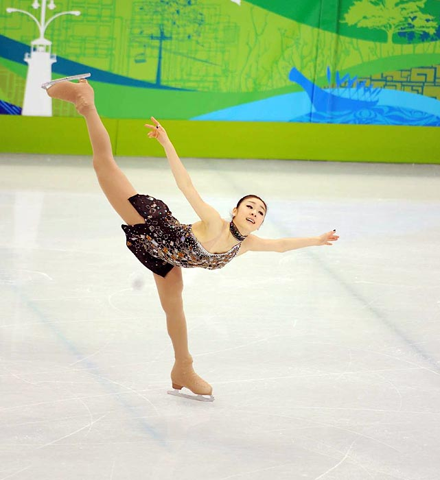 Kim, the 2010 Olympic ladies' figure skating singles champion, took time off after Vancouver, but proved that she was back for real when she won the Korean national championships in 2013.