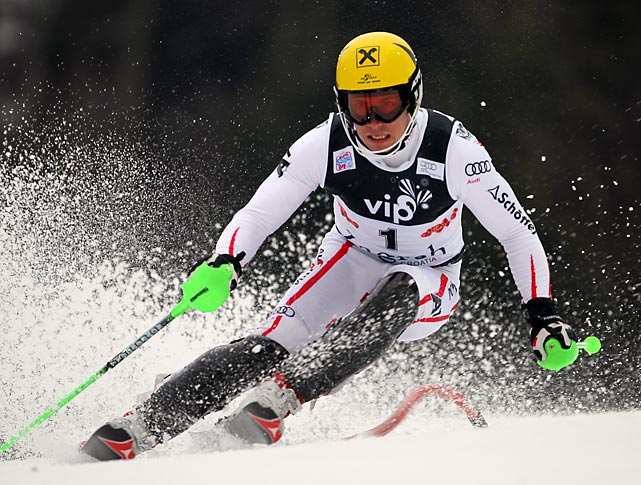 A slalom specialist, Hirscher has won four slalom events and two giant slalom events on the World Cup circuit this year, and will be competing for a spot on the podium in Sochi.