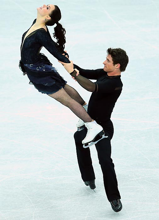 Ice dancers Virtue and Moir will likely compete with the U.S.' Meryl Davis and Charlie White for the Olympic gold medal.