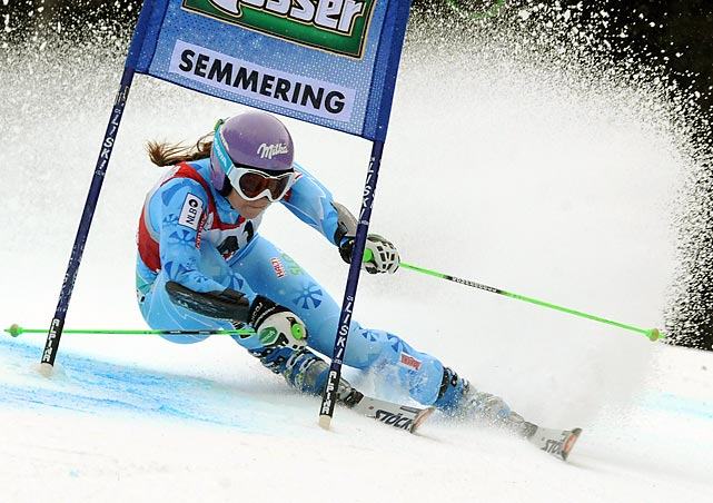 Maze is currently having one of the best seasons for a female alpine skier ever. She's won four giant slalom World Cup events, and seized the super-G world title.