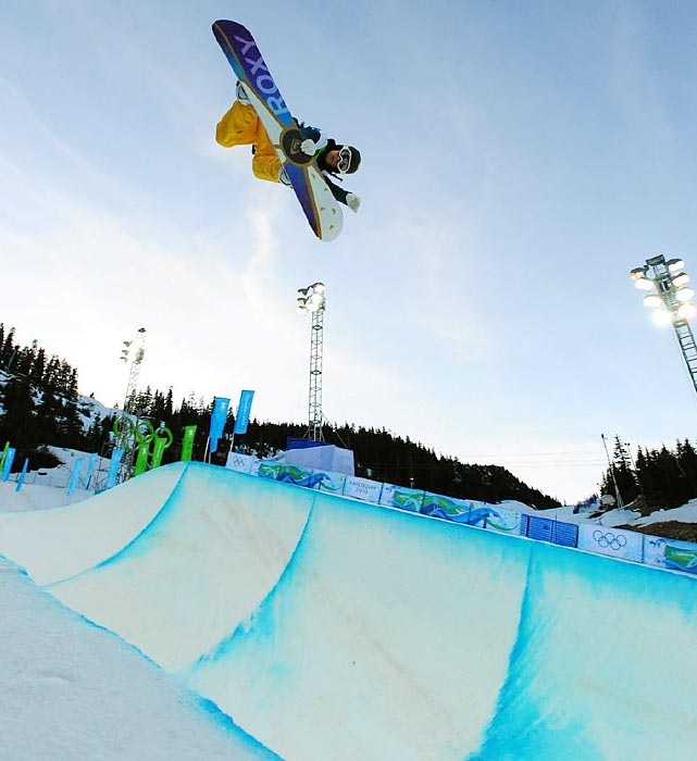 Bright, reigning Olympic champ in the snowboard halfpipe, just won the bronze in the new Olympic event slopestyle at the world championships. She should compete in both in Sochi next year.