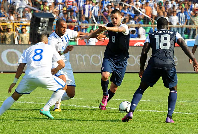 Clint Dempsey and the U.S. play Costa Rica in Commerce City, Colo., on March 22.