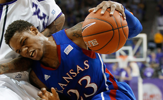 Ben McLemore and KU managed just 13 points in the first half against TCU, which was 0-8 in the Big 12.