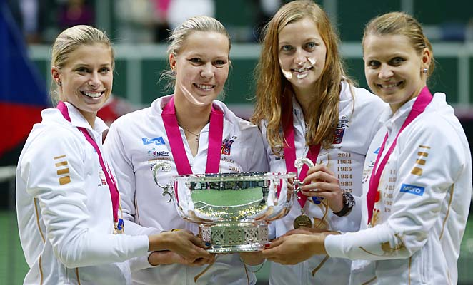 The Czech Republic won the Fed Cup title in 2012.