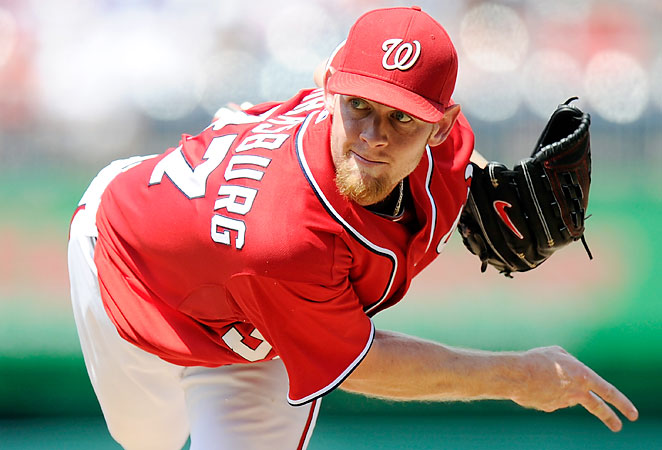 With fewer limits on his innings, Stephen Strasburg is a lock to strike out at least 200 batters in 2013.