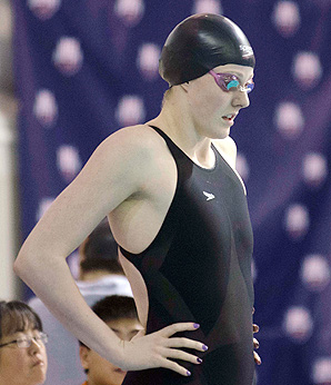 Olympic swimmer Missy Franklin won five medals at the London Olympics last summer.