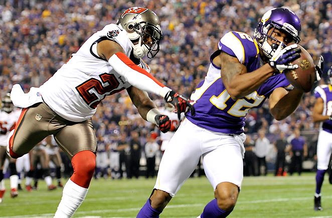 No one struggled more for the Bucs' league-worst pass defense than cornerback Eric Wright.