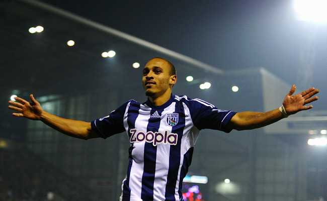 Peter Odemwingie has not made an appearance for West Brom since attempting to transfer to QPR.