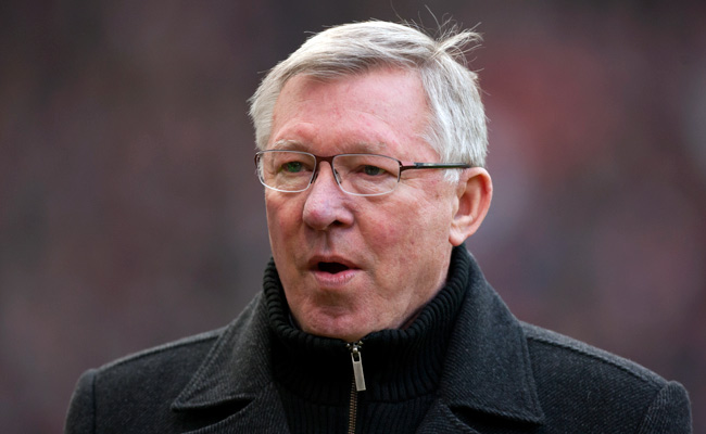 Manchester United manager Sir Alex Ferguson was fined for comments he made after a January match against Tottenham.