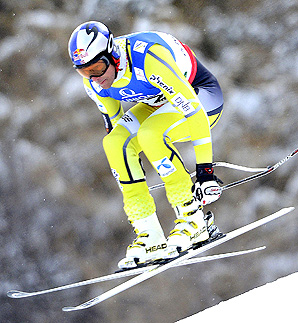 Aksel Lund Svindal, who won the downhill on the course at last year's World Cup finals, thinks the race will be decided in the last 40 seconds.