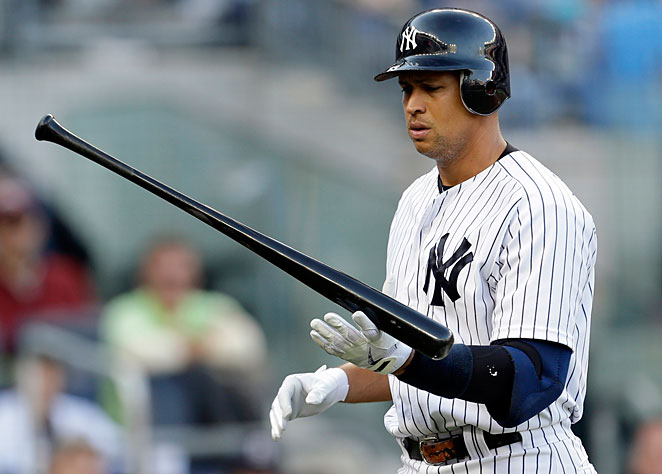 The Yankees still owe Alex Rodriguez more than $100 million for the next five seasons.