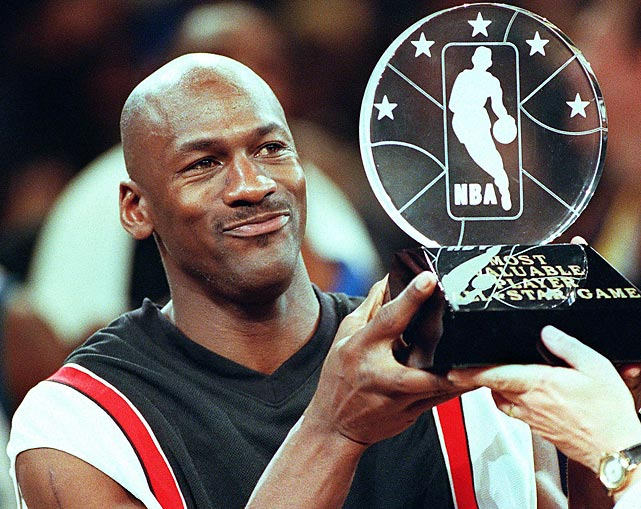 In his third and final All-Star Game MVP performance, Michael Jordan put on a show, scoring 23 points while collecting eight assists, six rebounds and three steals. Jordan orchestrated a 20-1 run in the fourth quarter to put the Western Conference away in a 135-114 victory. He would retire for the second time after the season. The 1998 All-Star Game also marked the All-Star debut of Kobe Bryant, who became the youngest All-Star in NBA history at just 19 years old.