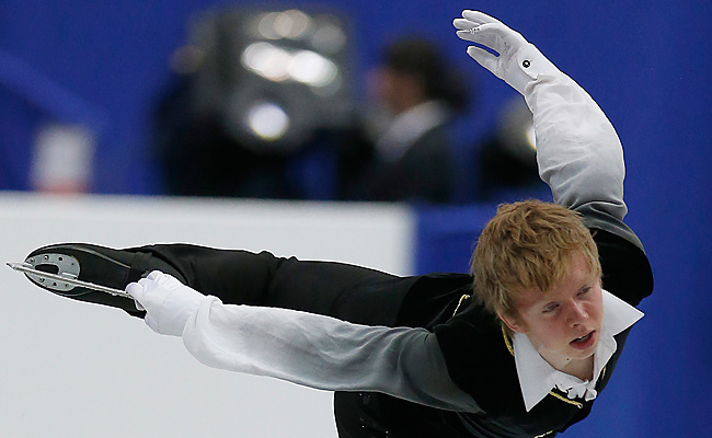 Kevin Reynolds landed three quads and finished with 250.55 points at Osaka Municipal Gymnasium.