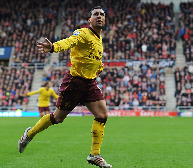 Santi Cazorla scored the game's only goal on Saturday in the 35th minute off a Theo Walcott pass.