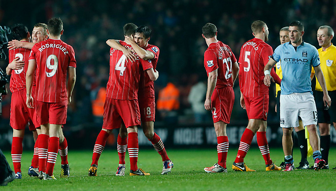Southampton had plenty of reasons to celebrate after throttling Manchester City on Saturday night.