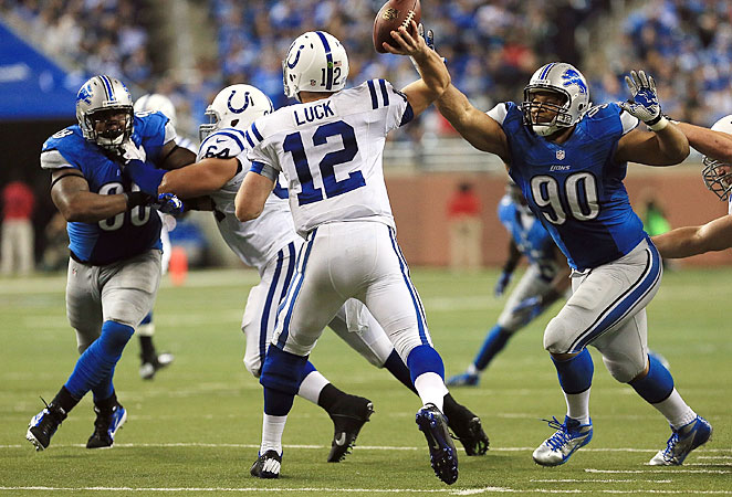 Nick Fairley and Ndamukong Suh are among the few players sure to return to the Lions defense.