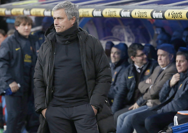 Jose Mourniho is under immense pressure now that Real Madrid will not win the La Liga title.