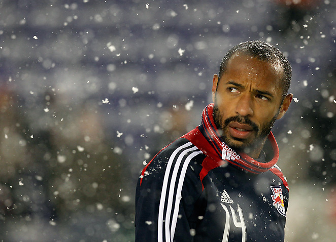 Thierry Henry has long been outspoken about racism even after he left Europe to play soccer.