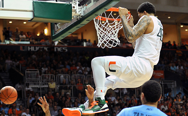 MIami, which had never been ranked higher than No. 8, has lopsided wins over both Duke and UNC.