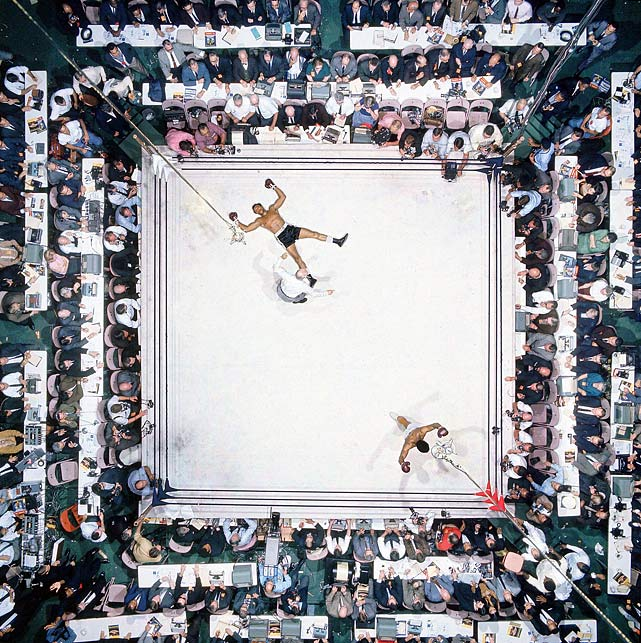 High point: Ali's brilliant performance against Williams?some would call it the finest of his career?was witnessed by an Astrodome crowd of 35,460, a record at the time for an indoor fight. Leifer's overhead shot was a knockout in its own right. Click here for Neil Leifer's fine art photography.
