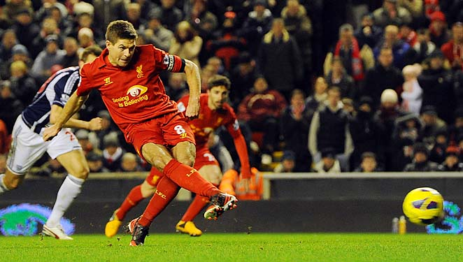 Steven Gerrard and Liverpool face Zenit St. Petersburg in one of the key Europa League clashes.