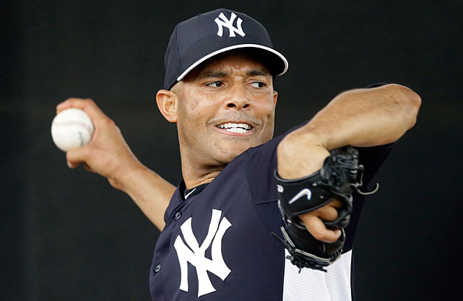 Mariano Rivera is returning from a knee injury that ended his season last May.