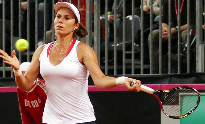 Varvara Lepchenko and the U.S. lost to Italy in Fed Cup last week.