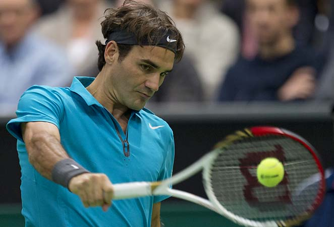 Roger Federer is playing his first tournament since bowing out in the Aussie Open semifinals.