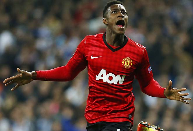 Danny Welbeck scored a crucial away goal for Manchester United, which escaped Madrid with a draw.
