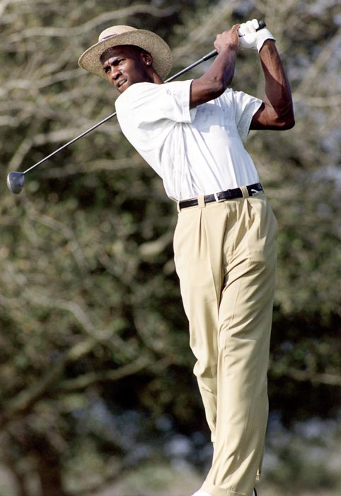 Jordan enjoys his other passion, playing a round of golf. Jordan had a great love for the sport that occasionally got him in trouble, such as when instances of his high-stakes gambling arose in 1992 and 1993.