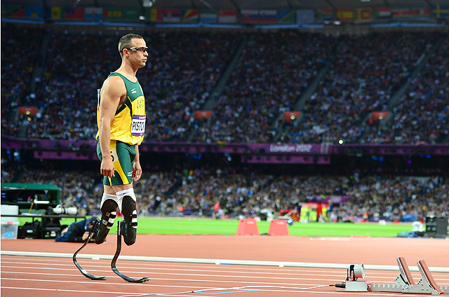 Oscar Pistorius was viewed as a man who beat the odds and became a hero. Now he's been charged with murder.