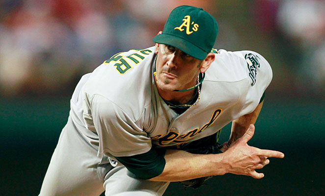 Grant Balfour had 24 saves for the AL West champion A's last season.